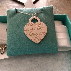 Tiffany & Co love notes necklace